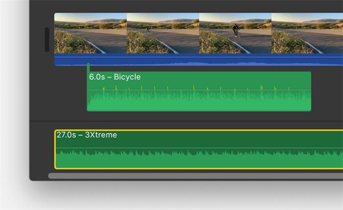 Add Background Music iMovie