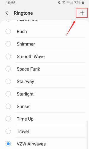 Add Ringtone to Android