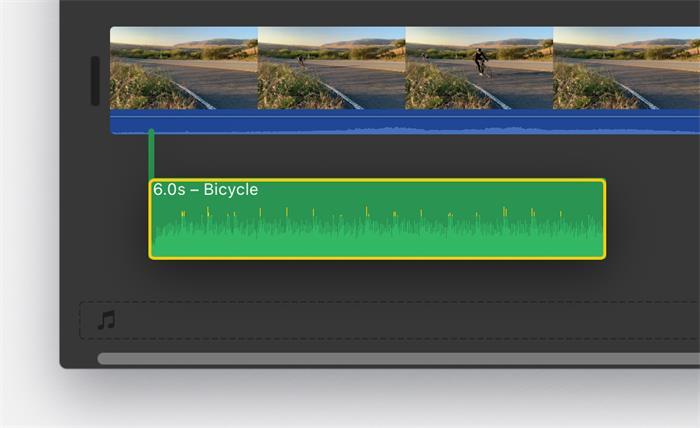Add Soundtracks iMovie