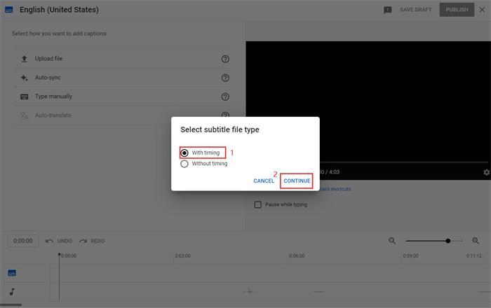 Add Subtitle Through File