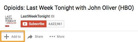 Add To YouTube Playlist