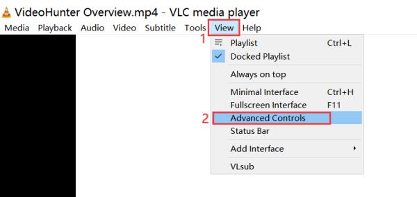 Advanced Controls VLC
