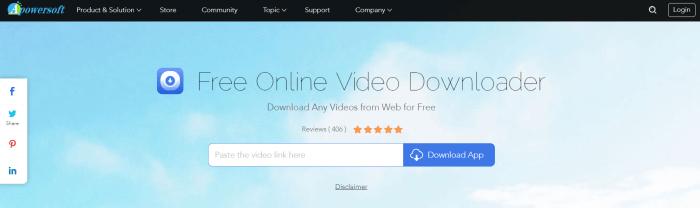 Apowersoft Online Video Downloader