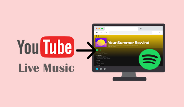 Convert YouTube Live Music to Spotify