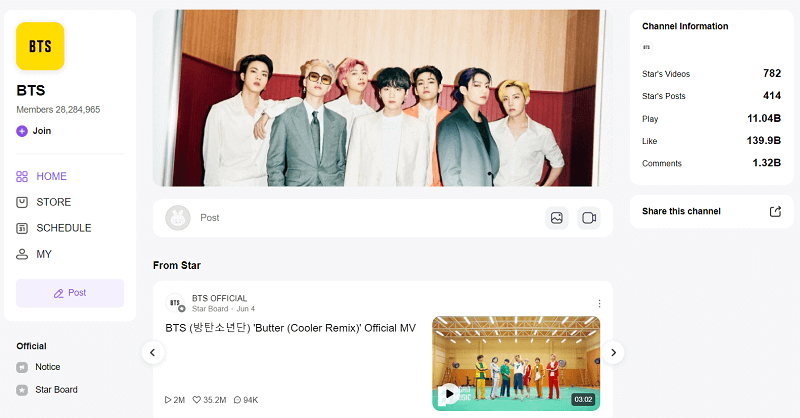 Download BTS Songs from Vlive