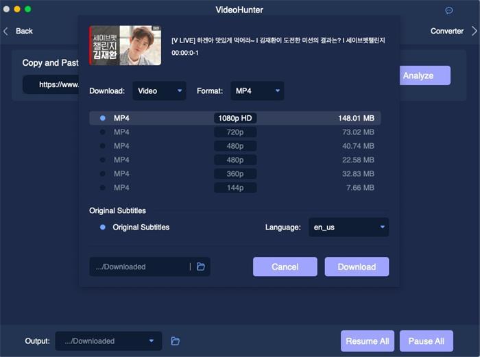 Download Vlive 1080p VideoHunter
