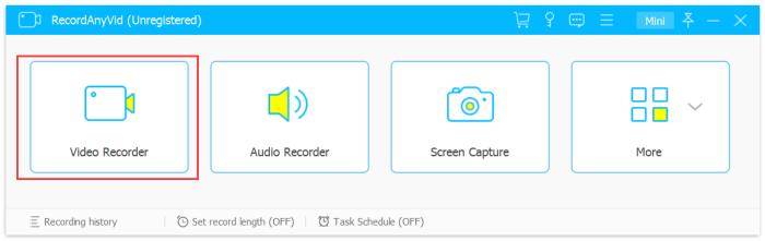 Enter Video Recorder