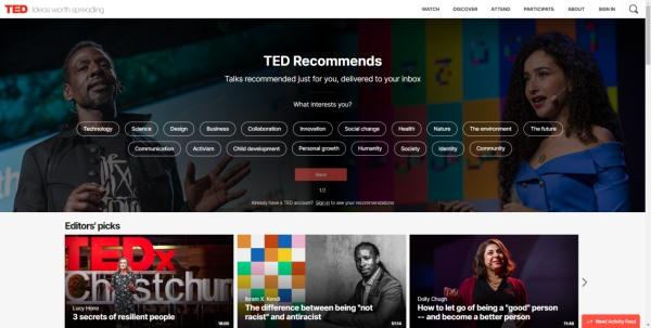 TED Website