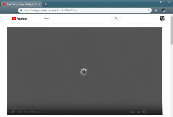 YouTube Not Working in Web Browser
